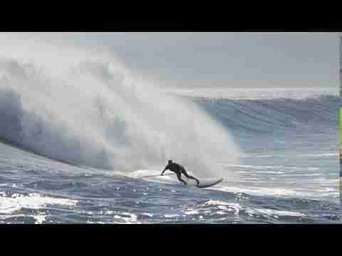 BIG Wave Surfing in Tahiti - BIC SUP Wave Pro