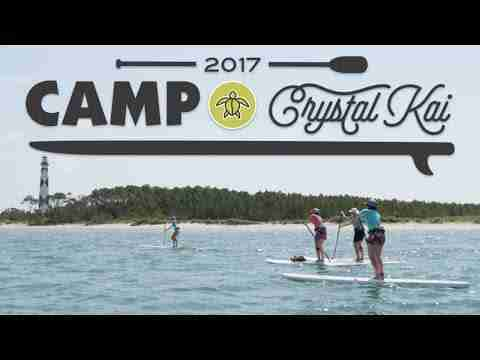 Camp Crystal Kai | Stand Up Paddling for Women on the Crystal Coast