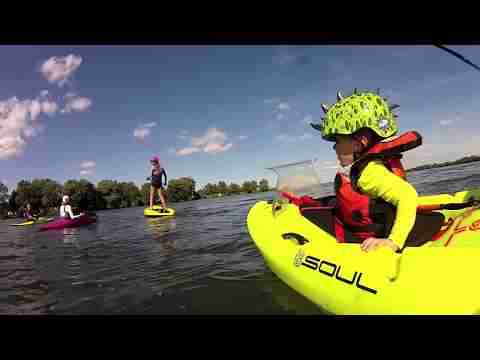 3yr old goes whitewater kayaking