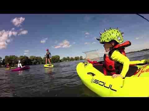 3yr old whitewater kayaking