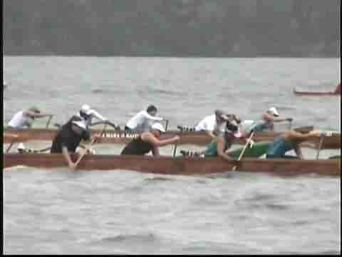 """Keauhou Canoe Club"" - "" Wahine"" at Hilo Regatta 2006"