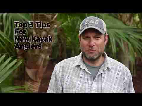 Top 3 Tips for New Kayak Anglers | JK Quick Tips