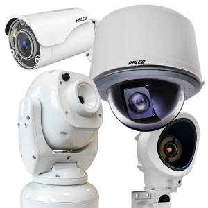 ip network and analog cameras pelco group