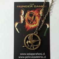 Collar sinsajo the hunger games los juegos del hambre peliculasdelrio soloparafans