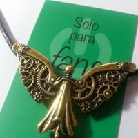 Collar angel mecanico mortal instruments cazadores de sombras peliculasdelrio soloparafans