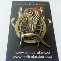 Broche sinsajo en llamas modelo 2 the hunger games los juegos del hambre peliculasdelrio soloparafans