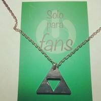 Zelda collar trifuerza triangulo soloparafans peliculasdelrio