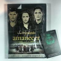 Amanecer parte 2 edicion 1 disco dvd twilight peliculasdelrio soloparafans