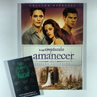 Amanecer parte 1 edici%c3%b3n extendida dvd twilight soloparafans peliculasdelrio