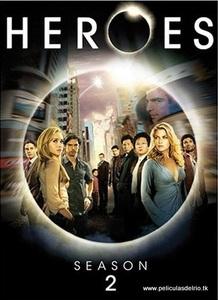 Heroes temporada 2 dvd peliculasdelrio