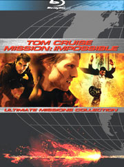 Bluray tom cruise mission impossible