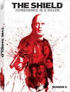 The shield season 5 dvd