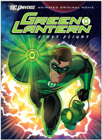 Linterna verde primer vuelo dvd