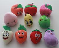 Titeres de dedo verduras