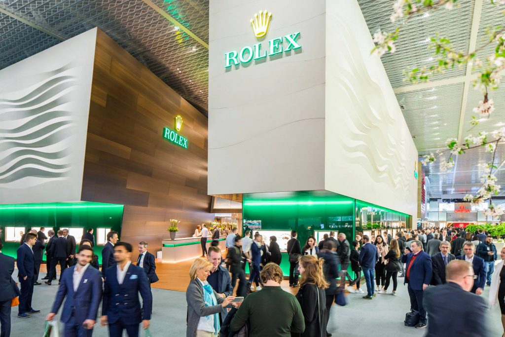 Baselworld - Rolex stand