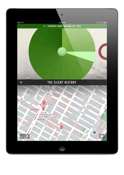 Unlocking location-based chapters in The Silent History, a digital novel