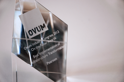 Pearson's myCloud wins Ovum award for innovation