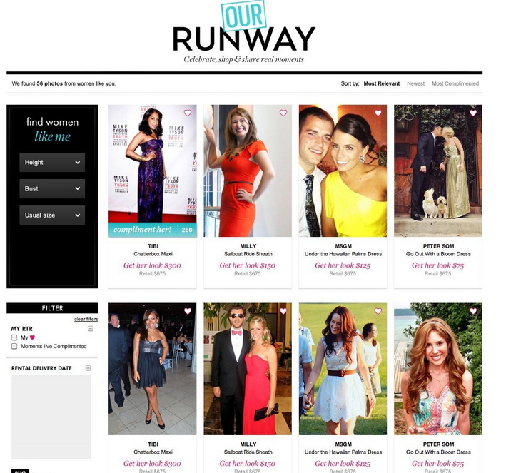 rent the runway big data