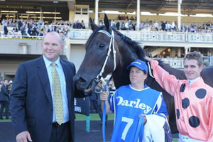 Black Caviar with Peter Moody and Luke Nolen