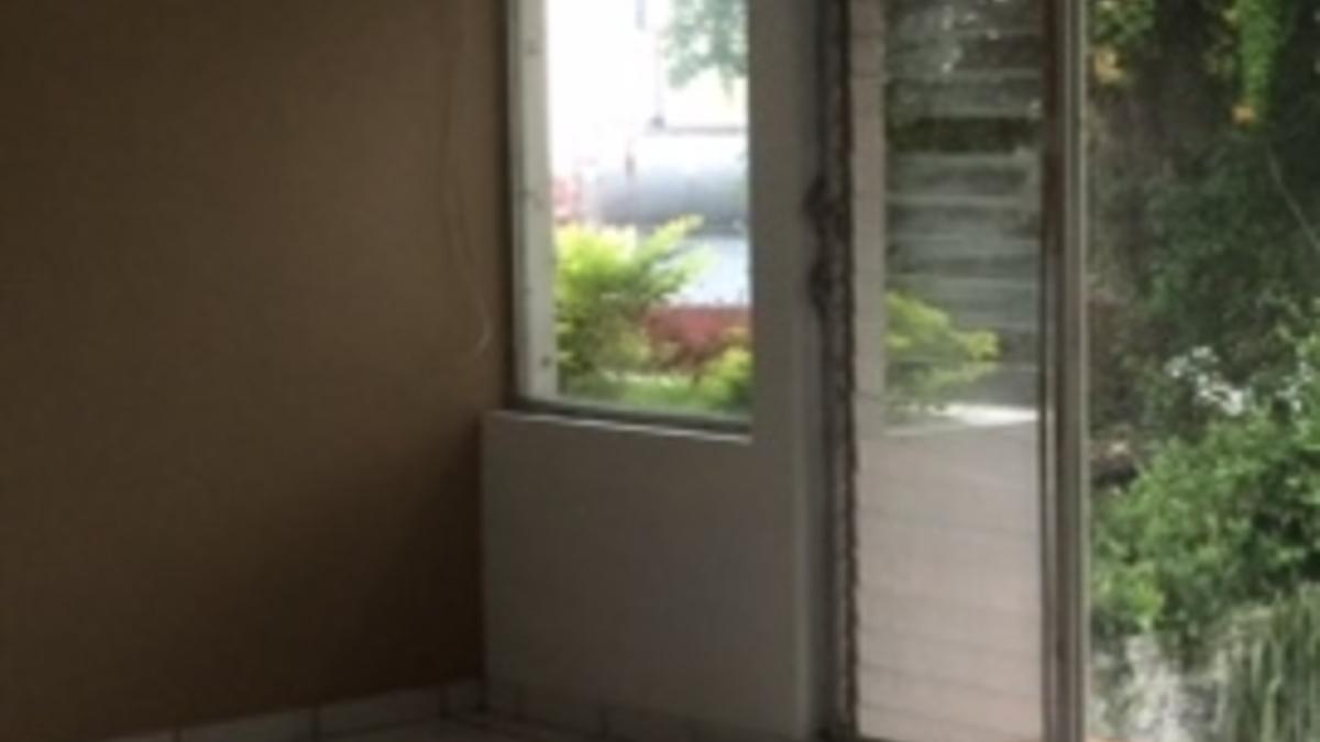 Medio ventanal ventilador