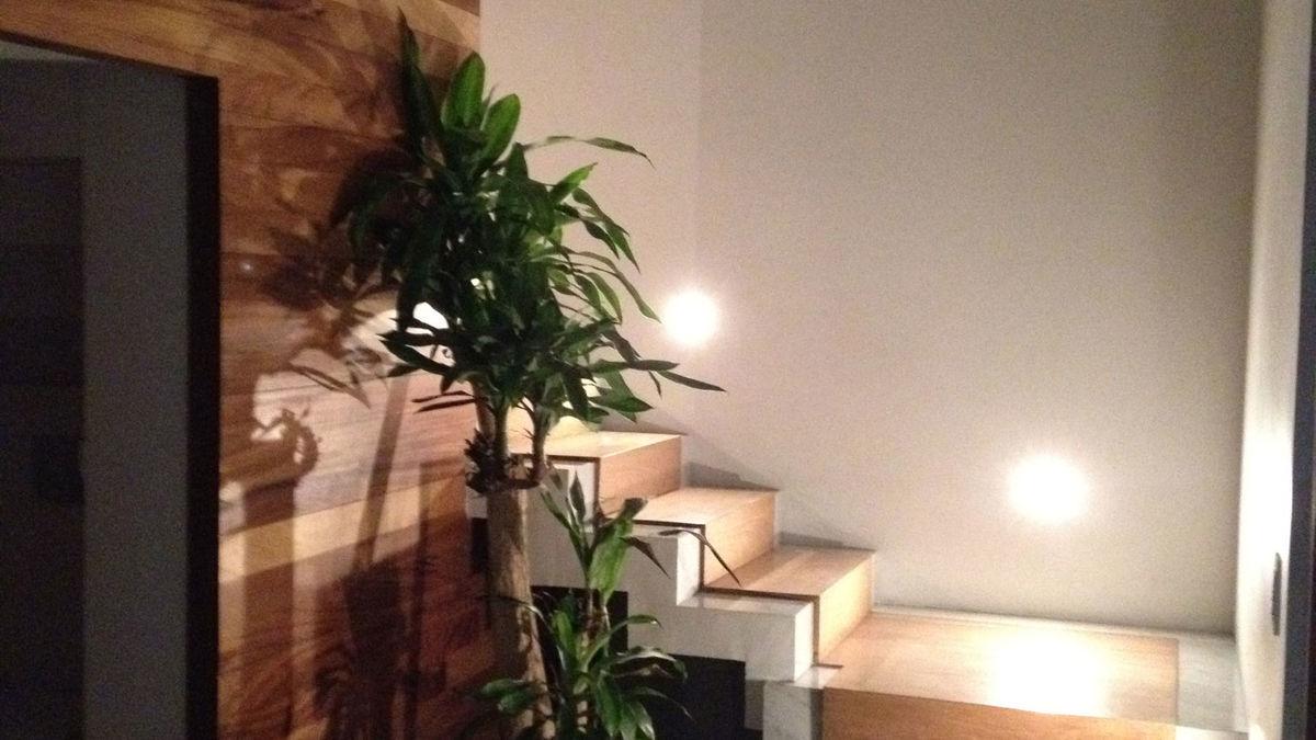 12. zona de recibidor y acceso a escaleras.