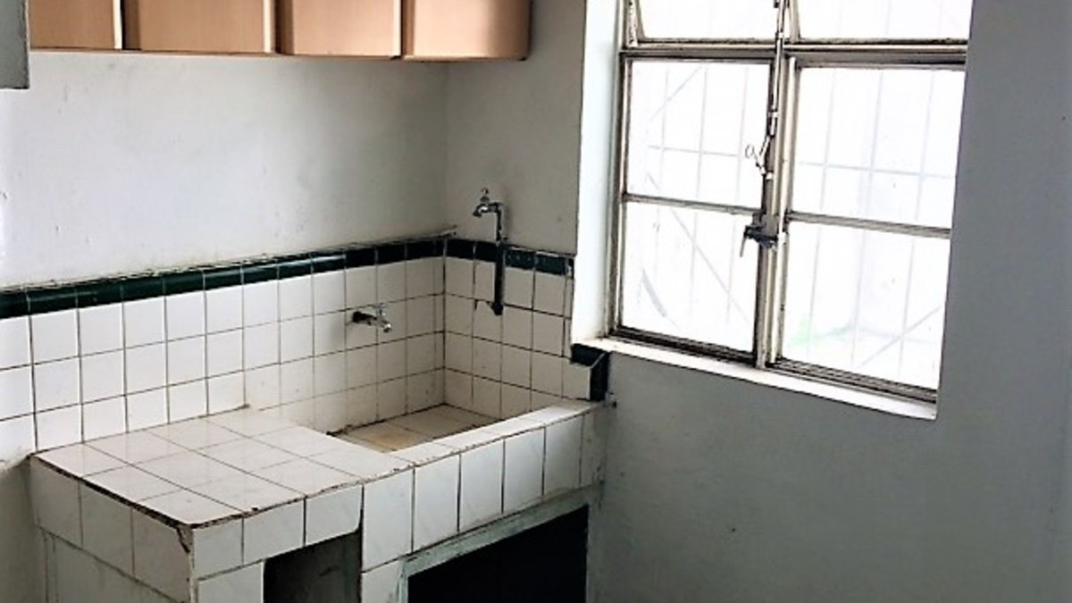 8 mirador cocina tarja piso
