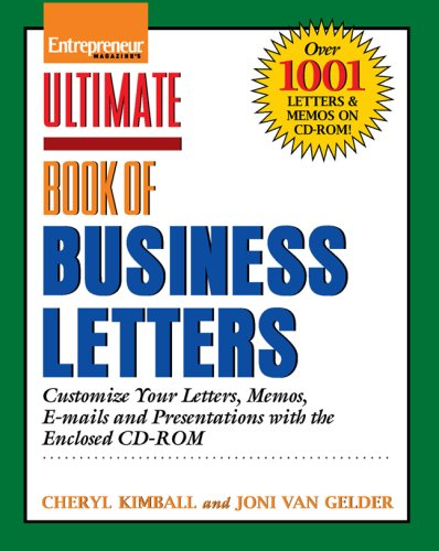 Ulimate Book of Business Letters (Entrepreneur Magazine's Ultimate Books)