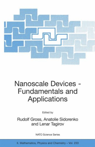 Nanoscale Devices - Fundamentals and Applications (NATO Science Series II: Mathematics, Physics and Chemistry)