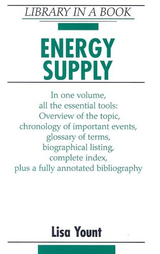 Energy Supply (Library in a Book)