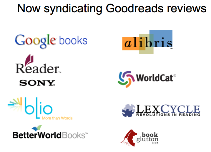 Now syndicating Goodreads reviews