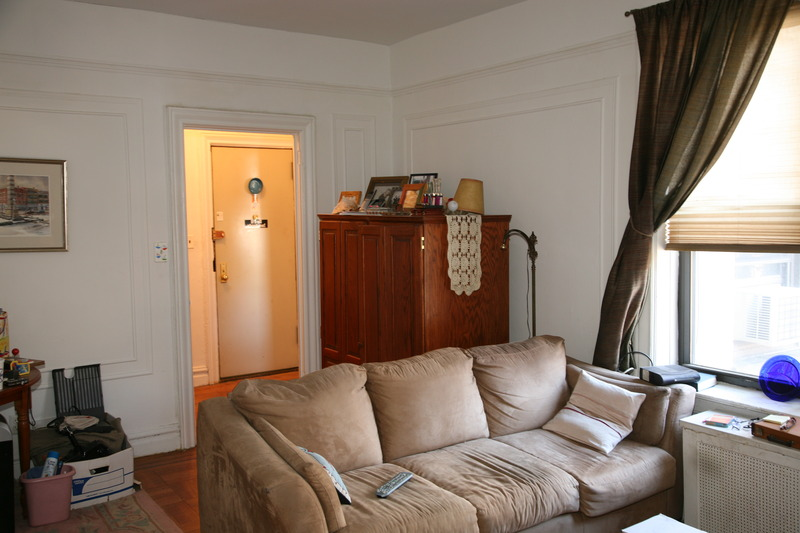 Re paint 900 sq ft apartment clinton hill sweeten for 900 square feet apartment