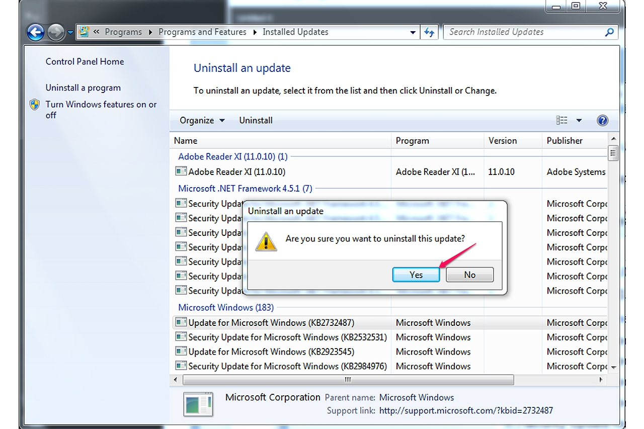 picture How to Uninstall All Windows Updates