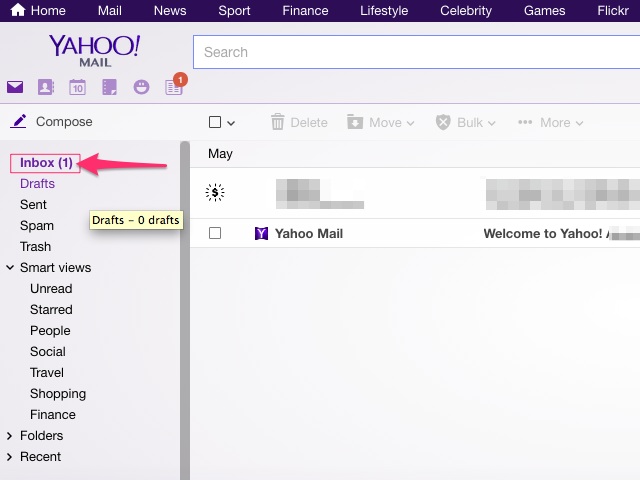 Yahoo Mail (Chrome)