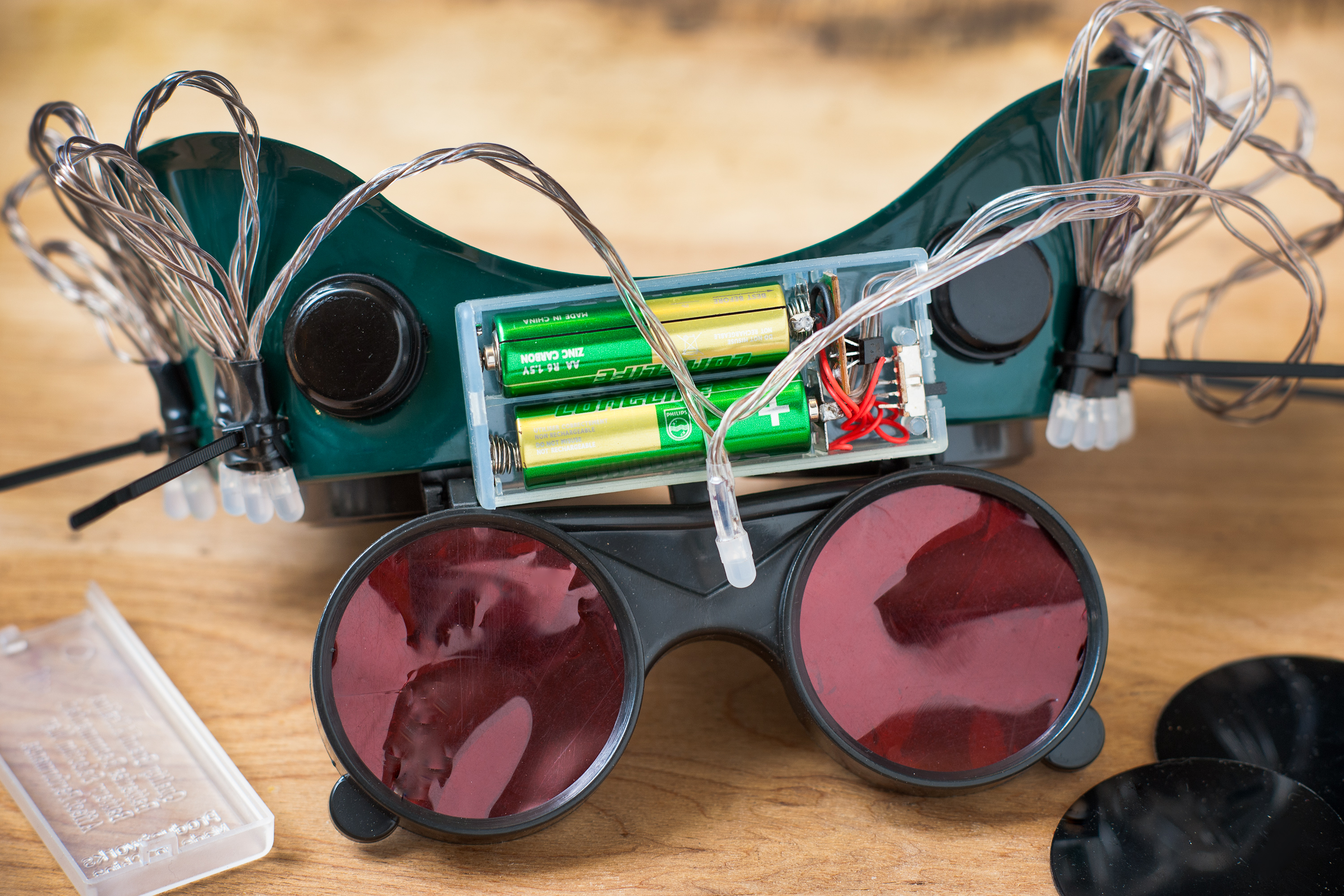 how to make vision impairment goggles
