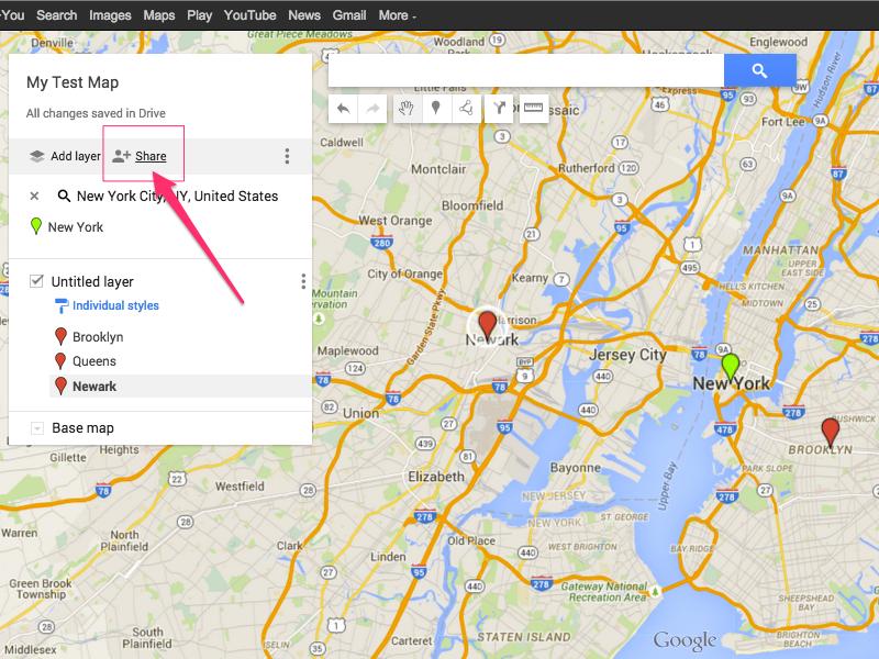 Google Maps (Chrome)
