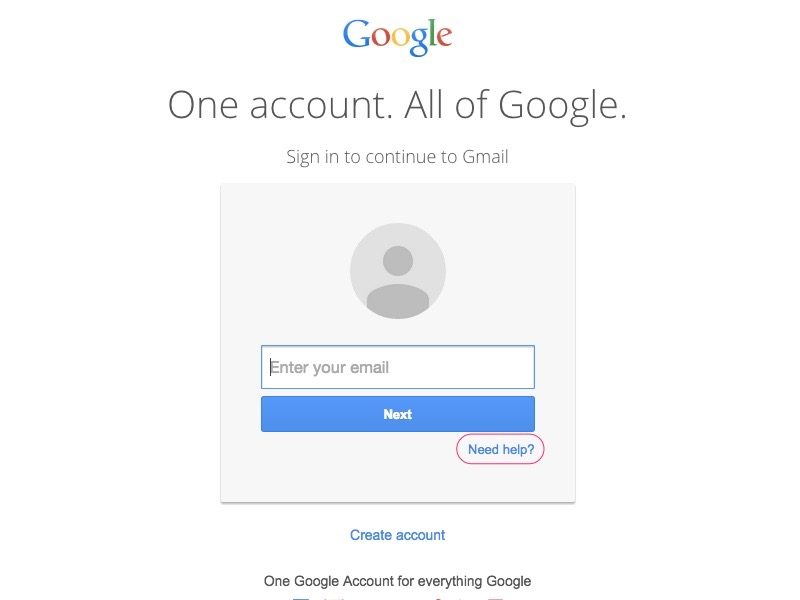 Try signing in with your recovered Gmail address.