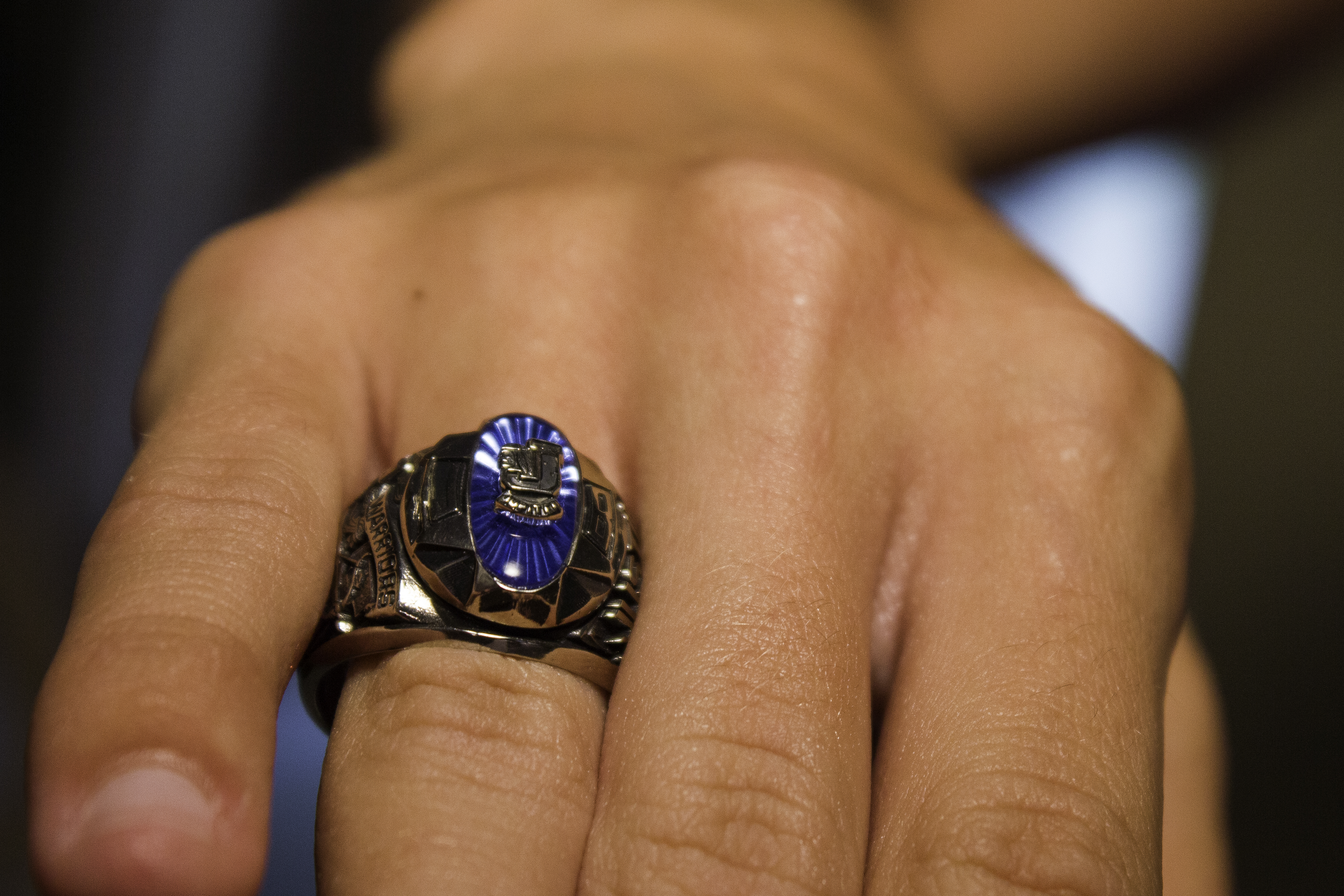 Wear Your Class Ring So That The Insignia Is Readable When Your Arm Is  Outstretched This Is According To The