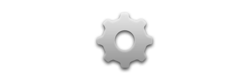 The Gear icon