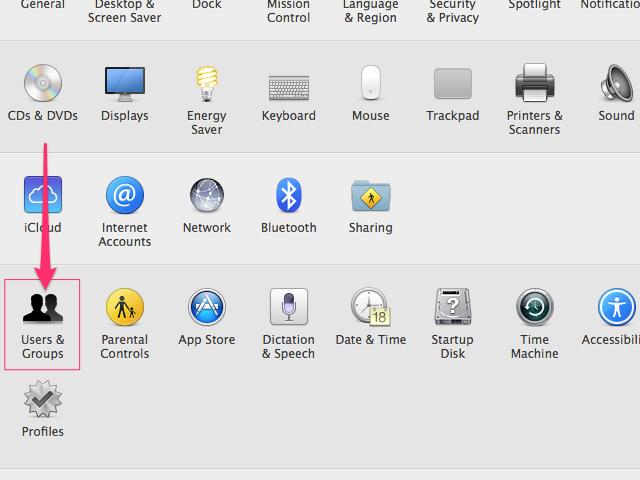 System Preferences panel (Apple)