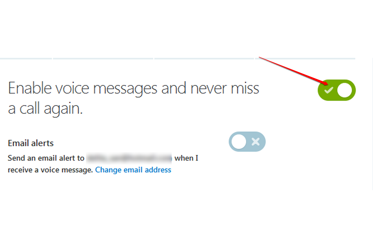 How to change your skype voicemail message it still works the button for enabling voice messaging on the skype website m4hsunfo