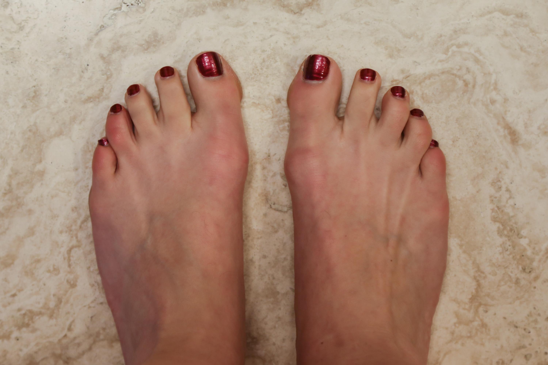 okay foot scrub