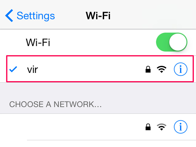how to connect my iphone to wifi