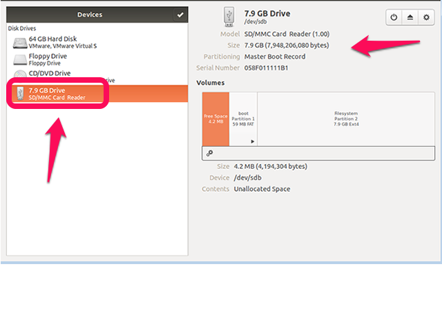 Ubuntu Disks Utility