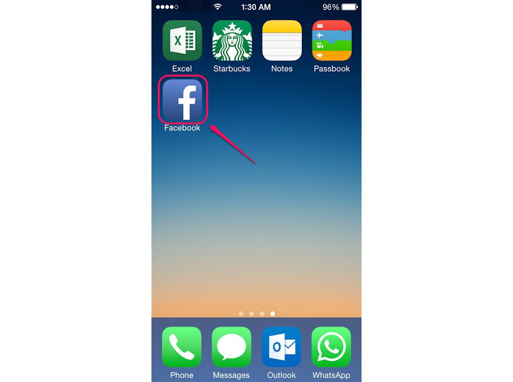 bHow to Install Facebook On An iPhone