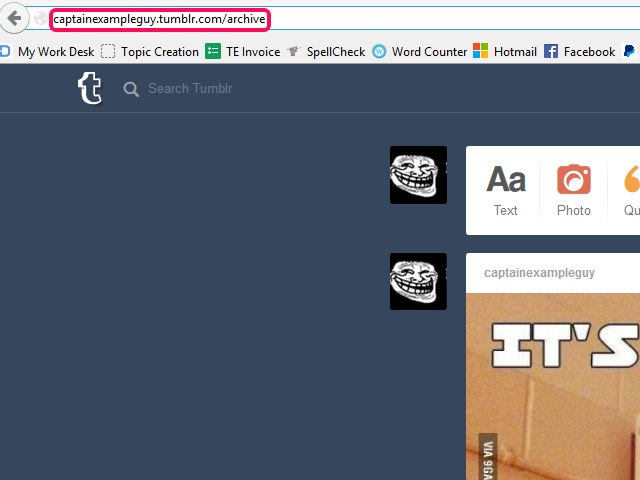 bHow to Get to Someone's Photos on Tumblr