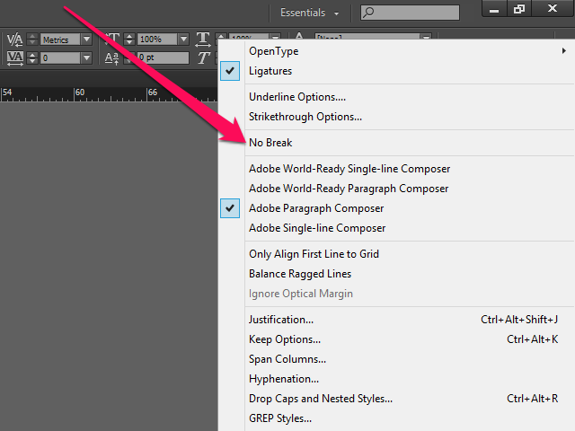 how to change hyphenation in indesign