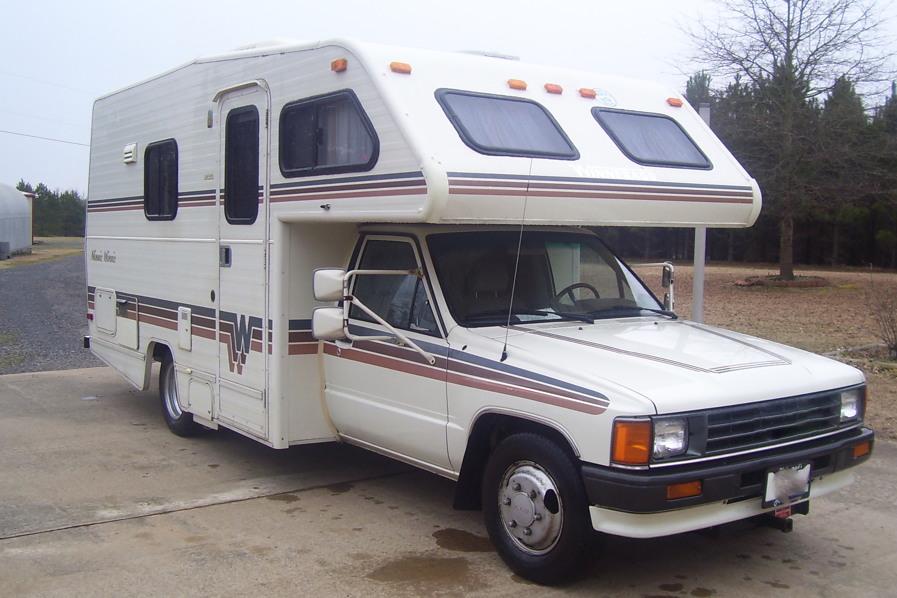 Types Toyota Motorhomes 7581366 on 1986 toyota pickup motor