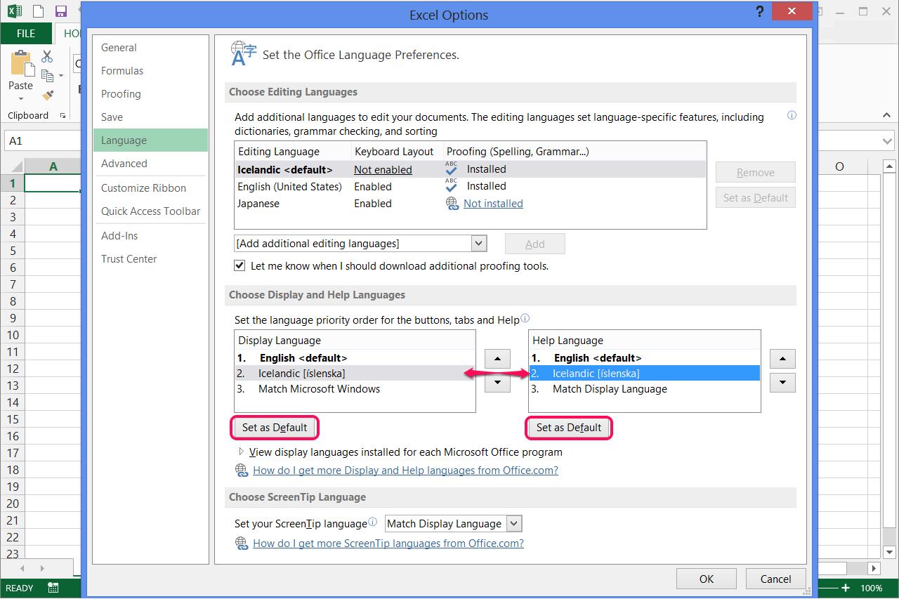 change microsoft excel to pdf