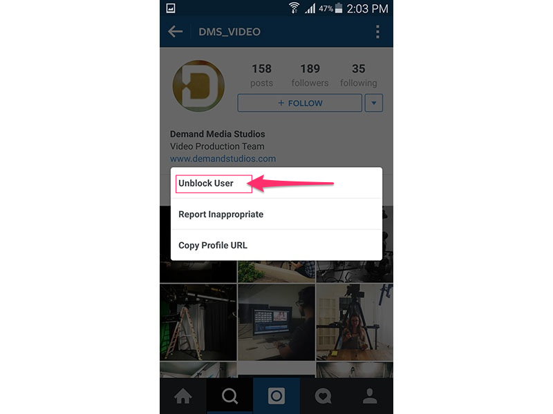 Instagram (Android 5.0)