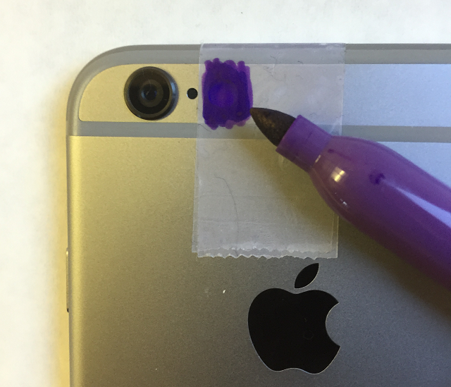 Purple Sharpie
